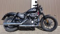 Sportster 883 mit AMC HD1 shorty tappered baloney cut